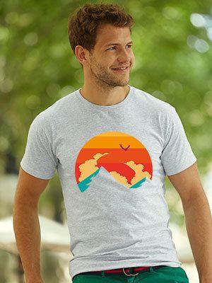 maglietta vacanze montagna