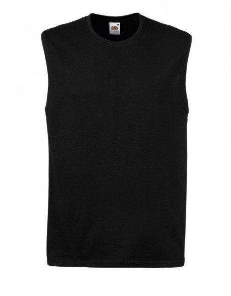 t-shirt uomo smanicata da personalizzare nera