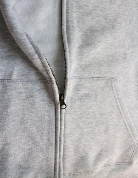 felpa personalizzata con cappuccio e zip