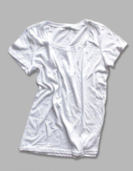 Maglietta Bianca Basic da Personalizzare