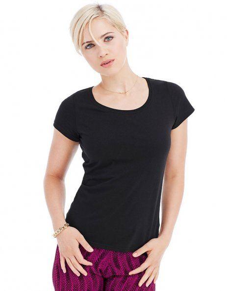 Maglietta personalizzata nera basic