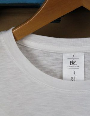 dettaglio colletto di maglia vintage eshirt