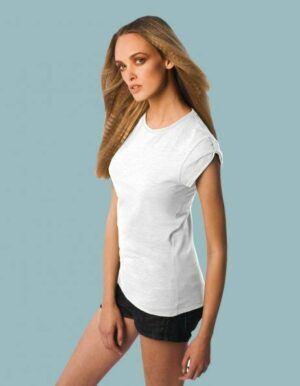 T-shirt vintage bianca