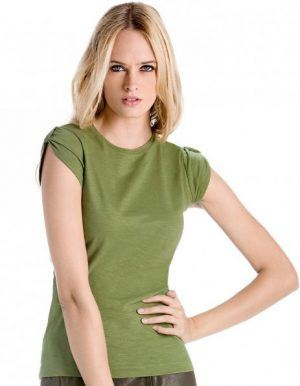 T-shirt vintage verde chic