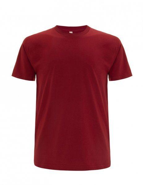 Personalizza t-shirt cotone bio colore Rosso scuro