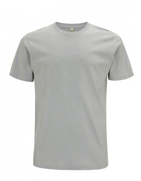 Personalizza t-shirt cotone bio colore grigio chiaro