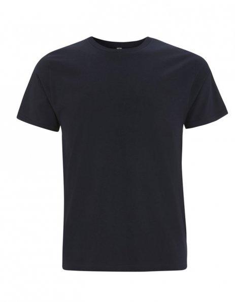 Personalizza t-shirt cotone bio colore blu notte