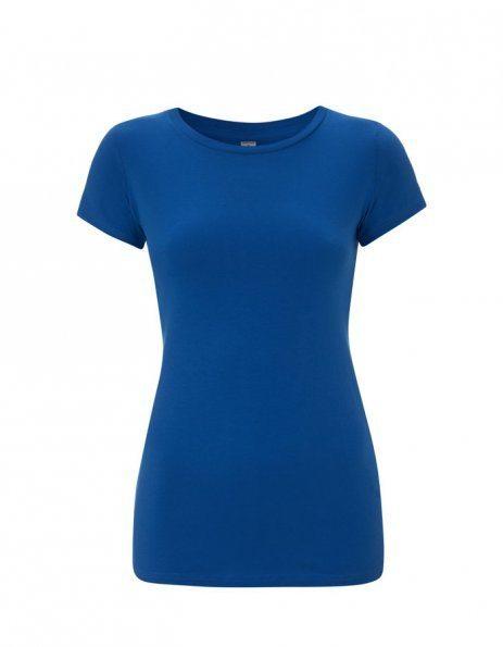 Personalizza t-shirt bio colore blu royal