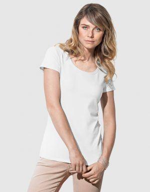 Maglietta personalizzata bianca basic