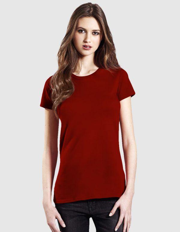 maglietta in cotone bio donna