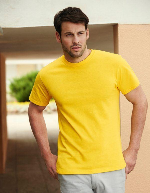 Maglietta uomo value maniche corte