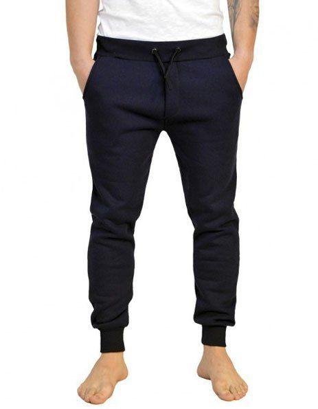 Pantaloni felpa elastico caviglia