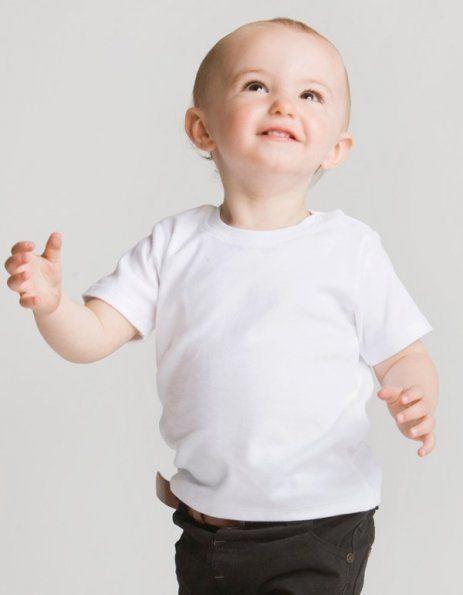 Personalizza maglietta baby con bottoncini laterali