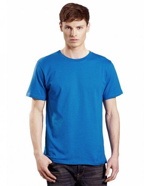 Personalizza t-shirt bio colore blu