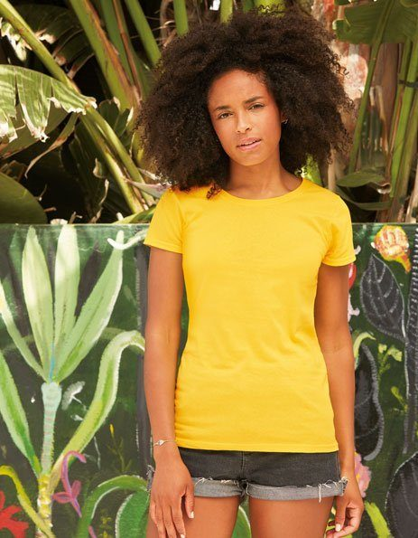 Personalizza t-shirt donna Fruit of the loom