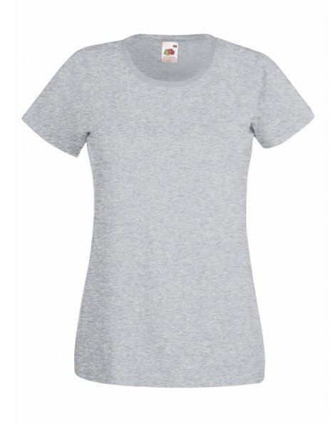 Personalizza t-shirt donna melange Fruit of the Loom