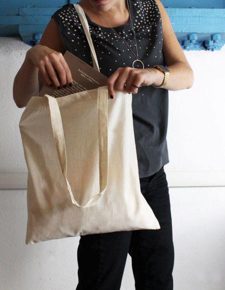 Shopper cotone colore naturale