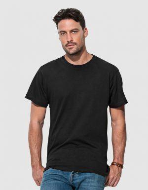 T-shirt uomo Basic nera