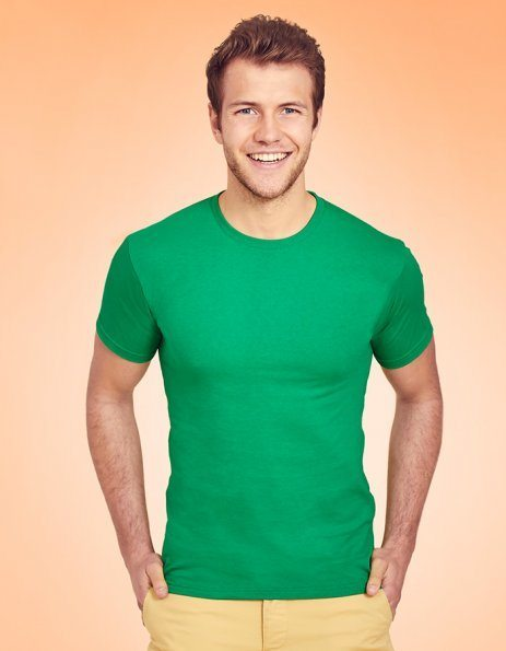 T-shirt Uomo Valueweight Fruit of the Loom verde prato