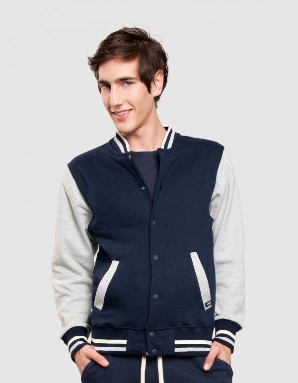 Felpa college vesti made in italy