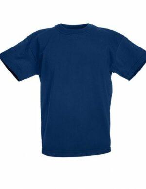 Personalizza maglietta bimbi blu navy Fruit of the Loom