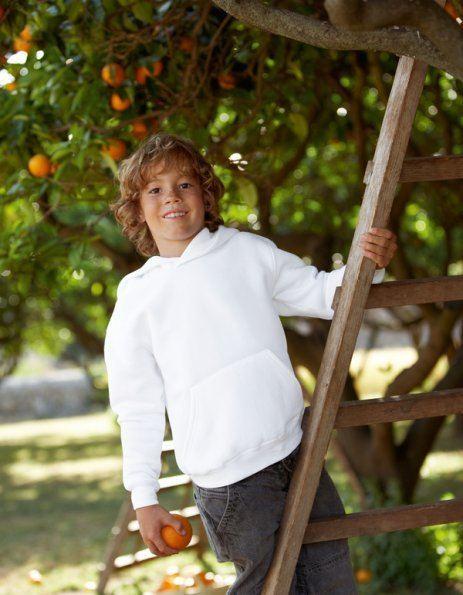 Personalizza Felpa Bambino Fruit of the Loom con cappuccio