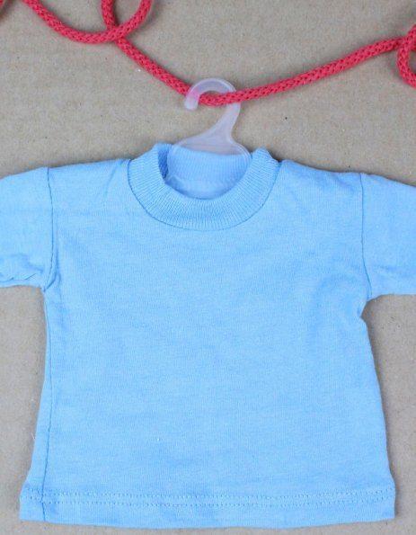 stampa personalizzata su mini-tshirt da appendere