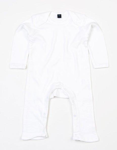 Tutina neonato personalizzata bianca