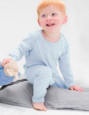 Tutina neonato personalizzata azzurra