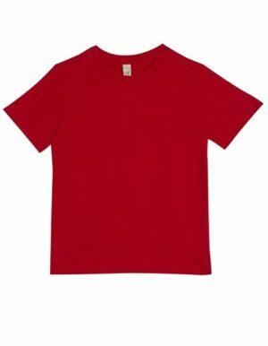 Personalizza t-shirt bio rossa