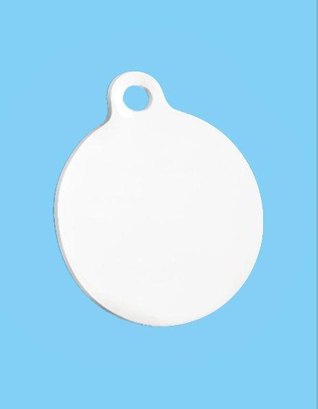 Personalizza Medaglietta portachiavi rotonda