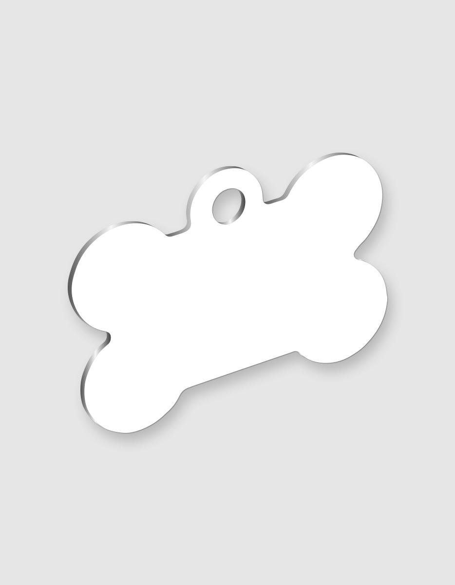 Osso Per Cani Disegno.Medaglietta Per Cani Personalizzata A Forma Di Osso Eshirt It
