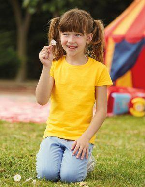 T-shirt bambino value maniche corte