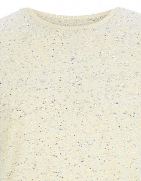 T-shirt Speckled crema Continental personalizzata
