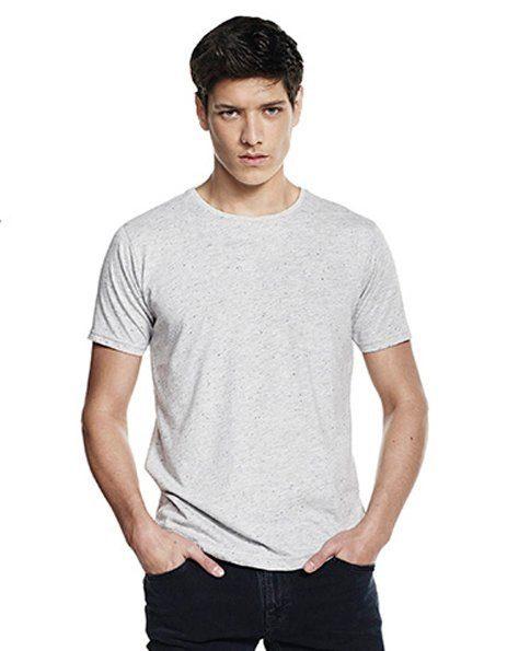 T-shirt Speckled Puntinata Continental Grigio