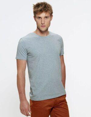 T-shirt personalizzata Bio Stanley Stella ghiaccio melange