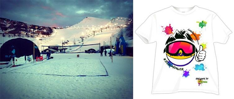 Campo da Volley e magliette personalizzate