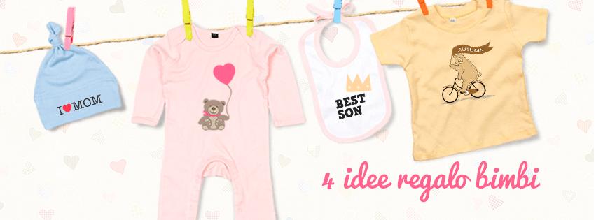 Abbigliamento neonato da personalizzare