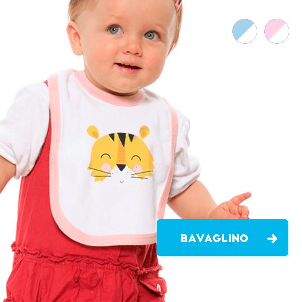 Bavaglino neonato personalizzato
