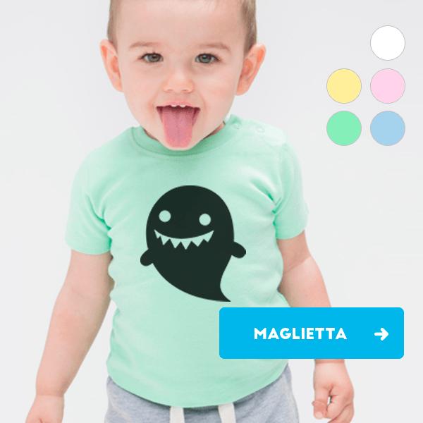 Magliette neonato da personalizzare