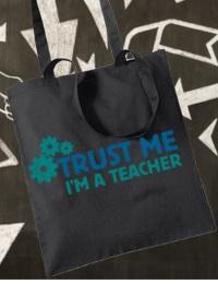 stampa borsa cotone personalizzata scuola