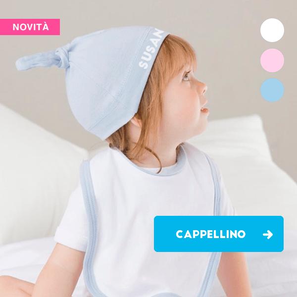 Cappellino personalizzato per bimbi