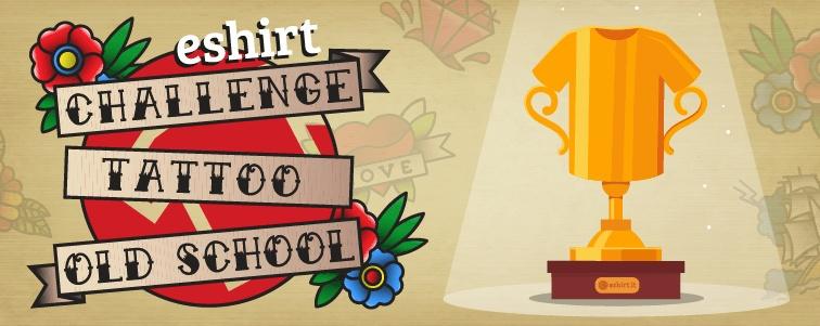 Challenge Old School Eshirt
