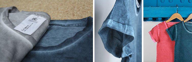 dettagli colore delle nuove maglie denim