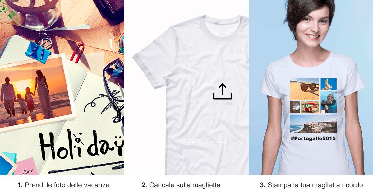 magliette vacanze guida 3 step