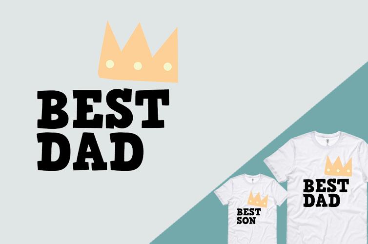 magliette personalizzate per la festa del papà