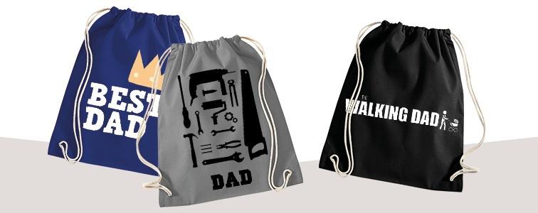 idee originali Festa del papà sacca Gym