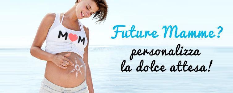Magliette per future mamme, t-shirt personalizzate gravidanza