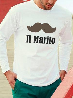 maglietta per lo sposo