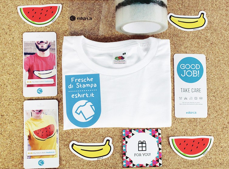 la nuova immagine coordinata di eshirt